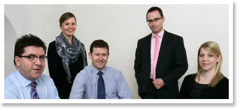 The Medmark office team